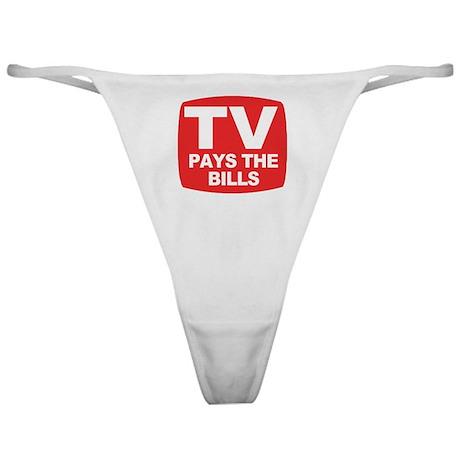 paysthebills Classic Thong
