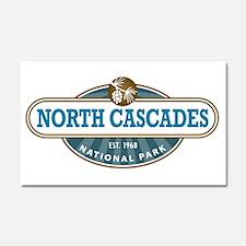 North Cascades National Park Car Magnet 20 x 12
