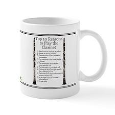 Clarinet Top 10 Small Mug