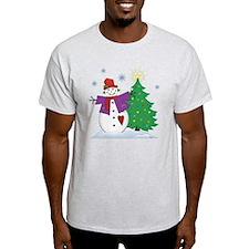 Country Snowman T-Shirt