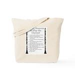 Clarinet Top 10 Tote Bag