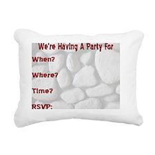 Geologist INSIDE Rectangular Canvas Pillow