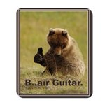 B..air guitar Mousepad