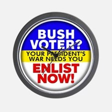 Bush Voter? Wall Clock