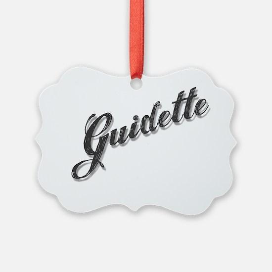 guidette Ornament