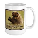 B..air guitar Large Mug