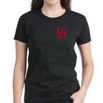 LGBT Red Pocket Pop Women's Dark T-Shirt