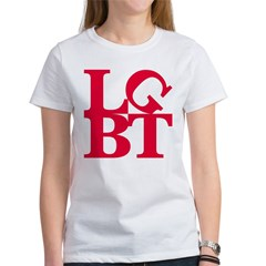 LGBT Red Pop Women's T-Shirt