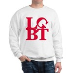 LGBT Red Pop Sweatshirt