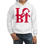 LGBT Red Pop Hooded Sweatshirt
