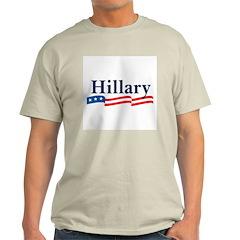 HILLARY 2008 Ash Grey T-Shirt