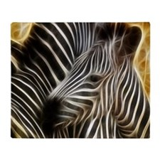 Zebra Love Throw Blanket
