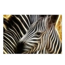 Zebra Love Postcards (Package of 8)
