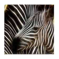 Zebra Love Tile Coaster