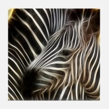 Zebra Love Tile Coaster