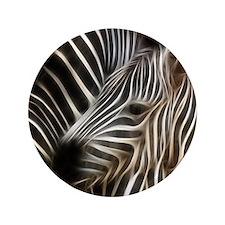 """Zebra Love 3.5"""" Button"""