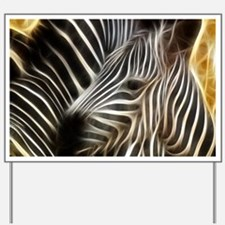Zebra Love Yard Sign