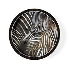 Zebra Love Wall Clock