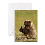 B..air guitar Greeting Cards (Pk of 10)