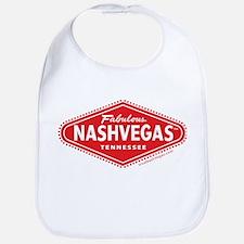 Fabulous NASHVEGAS TM Logo Bib