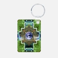 Earth-Ascension-Peace-Mand Keychains