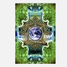 Earth-Ascension-Peace-Man Postcards (Package of 8)