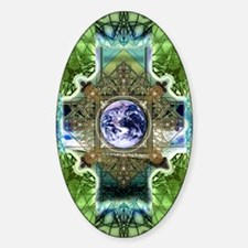 Earth-Ascension-Peace-Mandala Decal
