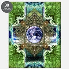 Earth-Ascension-Peace-Mandala Puzzle