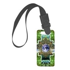 Earth-Ascension-Peace-Mandala Luggage Tag