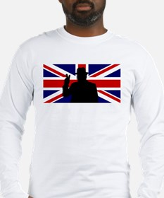 Winston Churchill Victory Long Sleeve T-Shirt