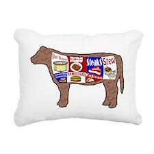 Cow Rectangular Canvas Pillow