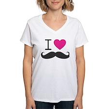 I Heart Mustache Shirt