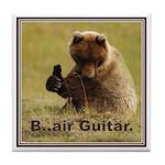 B..air guitar Tile Coaster