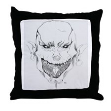 clown3 Throw Pillow