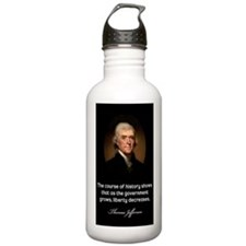Thomas-Jefferson-(cour Water Bottle