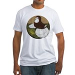 Baldhead English Trumpeter Fitted T-Shirt