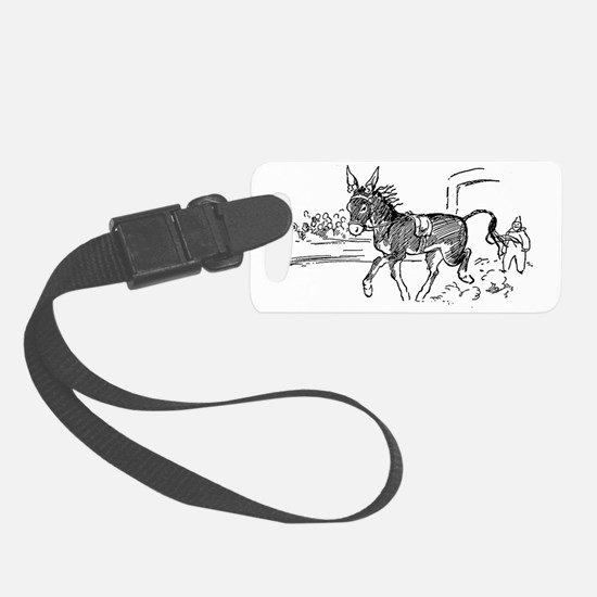 Little Donkey Luggage Tag