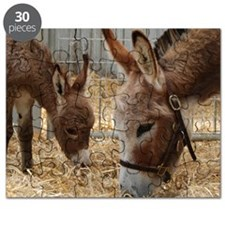Donkey and her Foal Puzzle