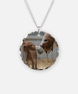 Newborn Donkey Foal Necklace