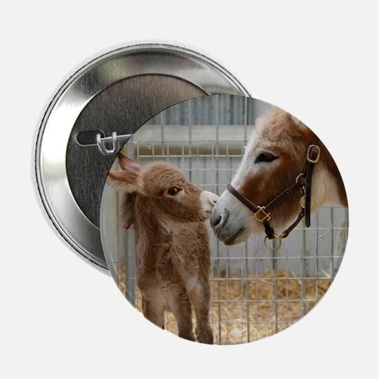 "Newborn Donkey Foal 2.25"" Button"