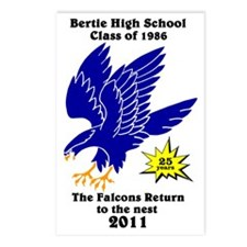 BHS1986-25yrs Postcards (Package of 8)