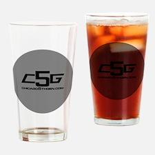 c5g logo 2 infini gg Drinking Glass