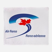 Royal Canadian Air Force Throw Blanket