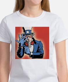 TSA-uncle-sam-OV Women's T-Shirt