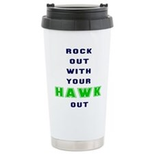 Cute Seahawks Travel Mug