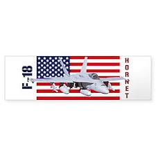 F-18 Hornet Bumper Bumper Sticker