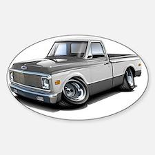 1970-72 Chevy Fleetside Grey-White  Decal