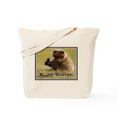 B..air guitar Tote Bag