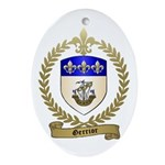 GERRIOR Family Crest Oval Ornament