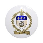 GERRIOR Family Crest Ornament (Round)